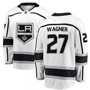 Austin Wagner Los Angeles Kings Youth Fanatics Branded White Breakaway Away Jersey