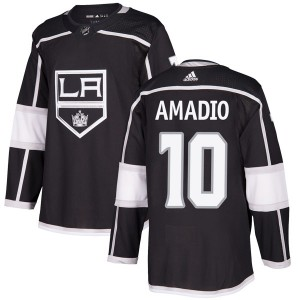 Michael Amadio Los Angeles Kings Youth Adidas Authentic Black Home Jersey