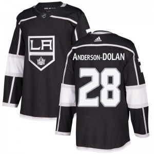 Jaret Anderson-Dolan Los Angeles Kings Youth Adidas Authentic Black Home Jersey