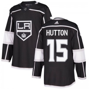 Ben Hutton Los Angeles Kings Youth Adidas Authentic Black Home Jersey