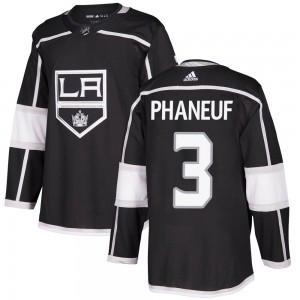 Dion Phaneuf Los Angeles Kings Youth Adidas Authentic Black Home Jersey