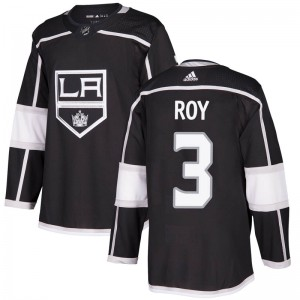 Matt Roy Los Angeles Kings Youth Adidas Authentic Black Home Jersey
