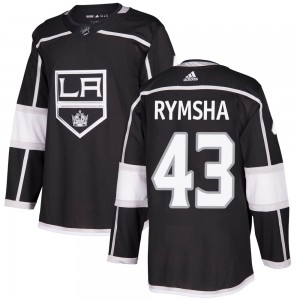 Drake Rymsha Los Angeles Kings Youth Adidas Authentic Black Home Jersey