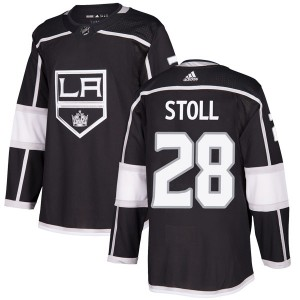 Jarret Stoll Los Angeles Kings Youth Adidas Authentic Black Home Jersey