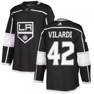 Gabriel Vilardi Los Angeles Kings Youth Adidas Authentic Black ized Home Jersey