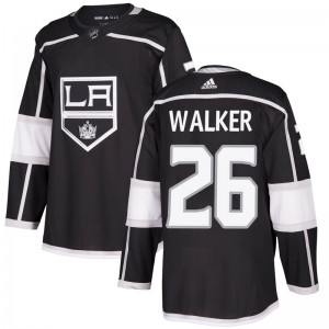 Sean Walker Los Angeles Kings Youth Adidas Authentic Black Home Jersey
