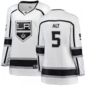 Mark Alt Los Angeles Kings Women's Fanatics Branded White Breakaway Away Jersey