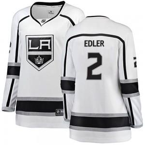 Alexander Edler Los Angeles Kings Women's Fanatics Branded White Breakaway Away Jersey