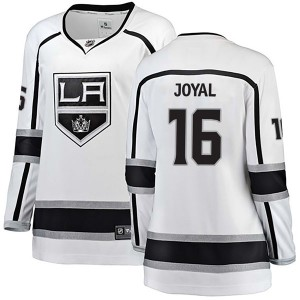 Eddie Joyal Los Angeles Kings Women's Fanatics Branded White Breakaway Away Jersey