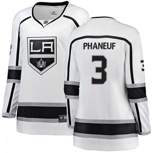 Dion Phaneuf Los Angeles Kings Women's Fanatics Branded White Breakaway Away Jersey