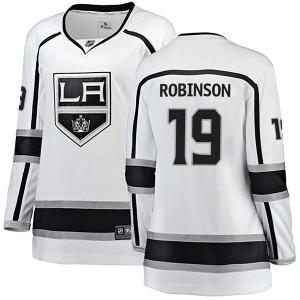 Larry Robinson Los Angeles Kings Women's Fanatics Branded White Breakaway Away Jersey