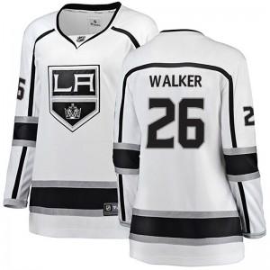 Sean Walker Los Angeles Kings Women's Fanatics Branded White Breakaway Away Jersey