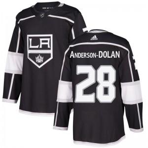 Jaret Anderson-Dolan Los Angeles Kings Men's Adidas Authentic Black Home Jersey