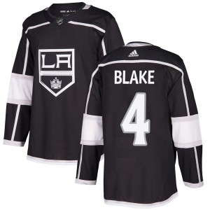 Rob Blake Los Angeles Kings Men's Adidas Authentic Black Home Jersey