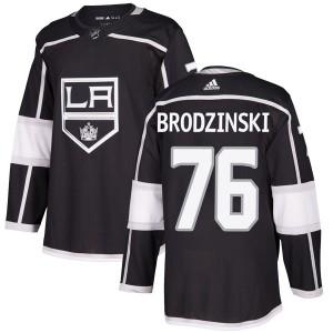 Jonny Brodzinski Los Angeles Kings Men's Adidas Authentic Black Home Jersey