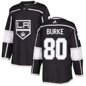 Brayden Burke Los Angeles Kings Men's Adidas Authentic Black Home Jersey