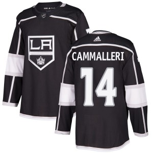 Mike Cammalleri Los Angeles Kings Men's Adidas Authentic Black Home Jersey