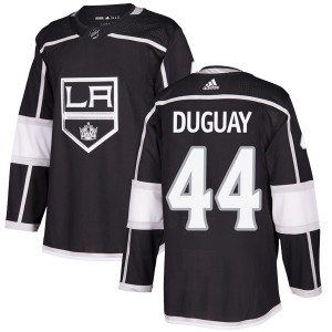 Ron Duguay Los Angeles Kings Men's Adidas Authentic Black Home Jersey