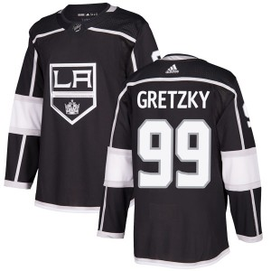 Wayne Gretzky Los Angeles Kings Men's Adidas Authentic Black Home Jersey