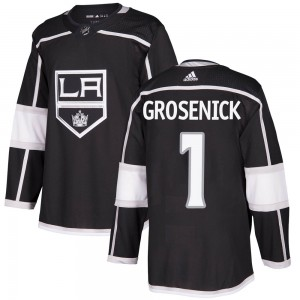 Troy Grosenick Los Angeles Kings Men's Adidas Authentic Black Home Jersey