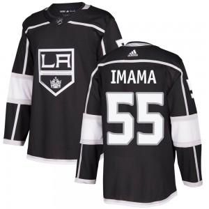 Bokondji Imama Los Angeles Kings Men's Adidas Authentic Black Home Jersey