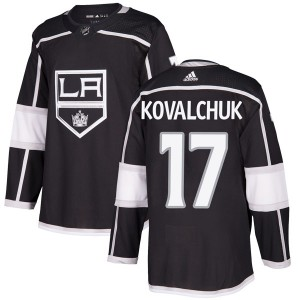 Ilya Kovalchuk Los Angeles Kings Men's Adidas Authentic Black Home Jersey