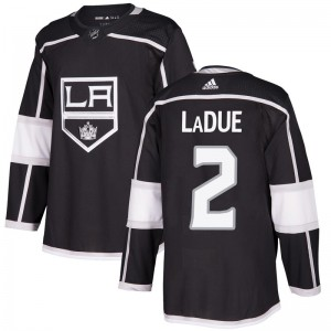 Paul LaDue Los Angeles Kings Men's Adidas Authentic Black Home Jersey