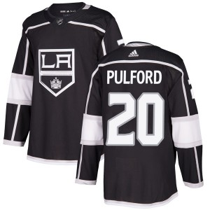 Bob Pulford Los Angeles Kings Men's Adidas Authentic Black Home Jersey