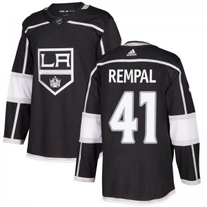 Sheldon Rempal Los Angeles Kings Men's Adidas Authentic Black Home Jersey