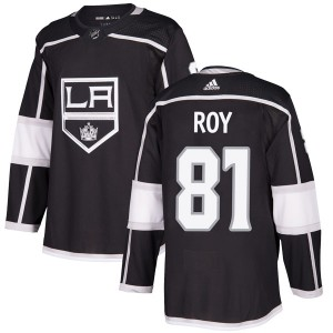 Matt Roy Los Angeles Kings Men's Adidas Authentic Black Home Jersey