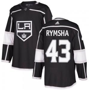 Drake Rymsha Los Angeles Kings Men's Adidas Authentic Black Home Jersey