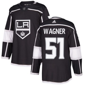Austin Wagner Los Angeles Kings Men's Adidas Authentic Black Home Jersey