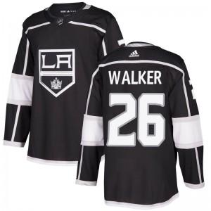 Sean Walker Los Angeles Kings Men's Adidas Authentic Black Home Jersey