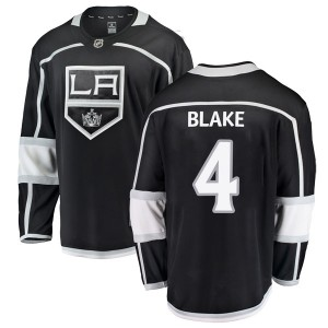 Rob Blake Los Angeles Kings Men's Fanatics Branded Black Breakaway Home Jersey