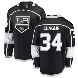 Kale Clague Los Angeles Kings Men's Fanatics Branded Black Breakaway Home Jersey