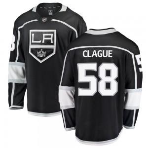 Kale Clague Los Angeles Kings Men's Fanatics Branded Black Breakaway Home Jersey