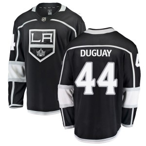 Ron Duguay Los Angeles Kings Men's Fanatics Branded Black Breakaway Home Jersey
