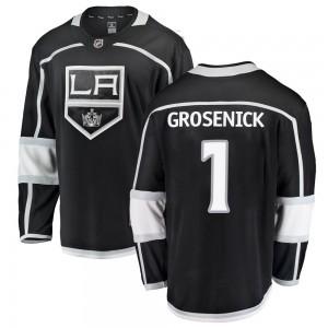 Troy Grosenick Los Angeles Kings Men's Fanatics Branded Black Breakaway Home Jersey