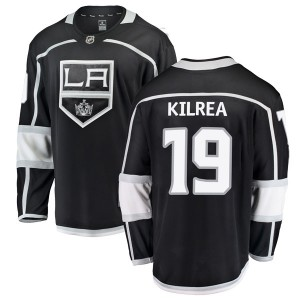 Brian Kilrea Los Angeles Kings Men's Fanatics Branded Black Breakaway Home Jersey