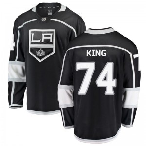 Dwight King Los Angeles Kings Men's Fanatics Branded Black Breakaway Home Jersey