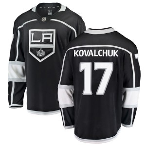 Ilya Kovalchuk Los Angeles Kings Men's Fanatics Branded Black Breakaway Home Jersey