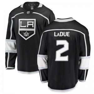 Paul LaDue Los Angeles Kings Men's Fanatics Branded Black Breakaway Home Jersey