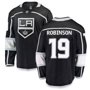 Larry Robinson Los Angeles Kings Men's Fanatics Branded Black Breakaway Home Jersey
