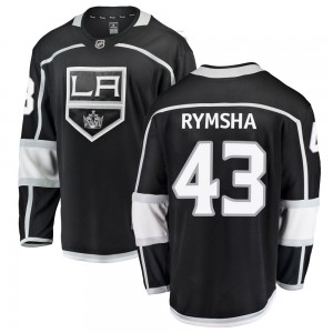 Drake Rymsha Los Angeles Kings Men's Fanatics Branded Black Breakaway Home Jersey