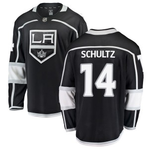 Dave Schultz Los Angeles Kings Men's Fanatics Branded Black Breakaway Home Jersey