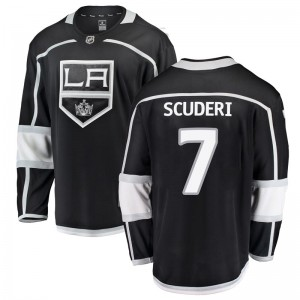 Rob Scuderi Los Angeles Kings Men's Fanatics Branded Black Breakaway Home Jersey