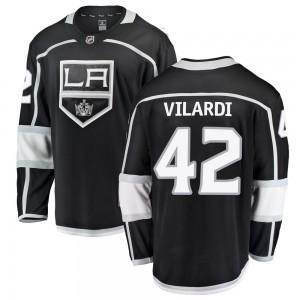 Gabriel Vilardi Los Angeles Kings Men's Fanatics Branded Black ized Breakaway Home Jersey