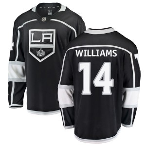 Justin Williams Los Angeles Kings Men's Fanatics Branded Black Breakaway Home Jersey