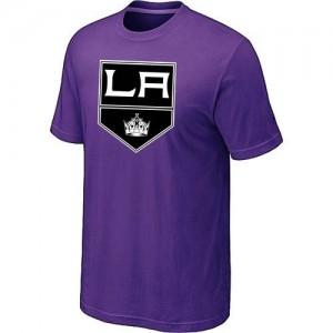 Los Angeles Kings Men's Purple Big & Tall Logo T-Shirt