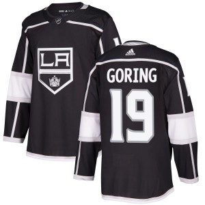 Butch Goring Los Angeles Kings Men's Adidas Authentic Black Jersey